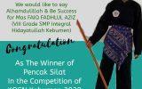 SMP Integral Hidayatullah Kebumen Mendapat Juara 1 Dalam Kejuaraan Pencak Silat Tingkat Kabupaten Kebumen